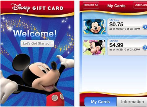 Where Are Disney Gift Cards Sold - new disney gift card app now available disney parks blog