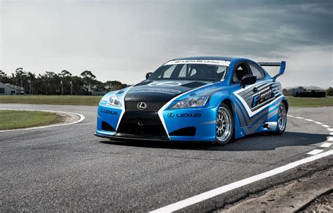 race car lexus of brisbane introduces lexus is f race cars lexus