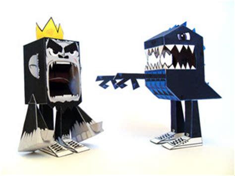 Kong Papercraft - king kong godzilla papercraft paperkraft net free