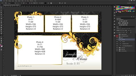 photoshop cs3 modifying your photo booth template s text