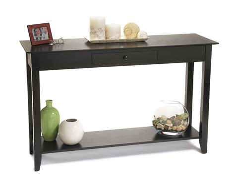console sofa table black console table native home garden design