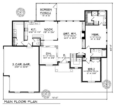 main floor plans traditional style house plan 4 beds 3 5 baths 3150 sq ft