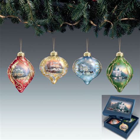 kinkade ornaments kinkade ornament shop collectibles daily