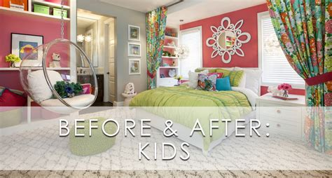 Livingroom Theater by Hamptons Inspired Luxury Kids Girls Bedroom Before And