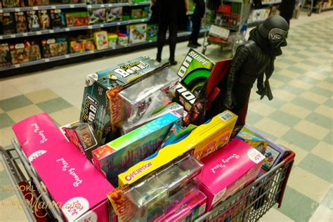 kmart christmas gifts kmart shopping spree for charity an easy last minute diy gift active