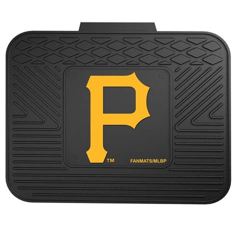 fanmats pittsburgh 14 in x 17 in utility mat