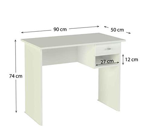 schreibtisch weiß 90 cm breit meka block k 9453b schreibtisch 1 schublade 90 cm
