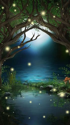 wallpapers animados anime para android fireflies by creative factory wallpapers pour android 224