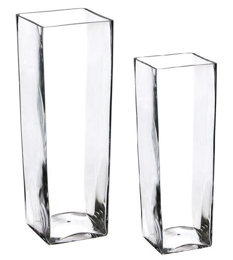 vasi in vetro quadrati vetro euroitalia