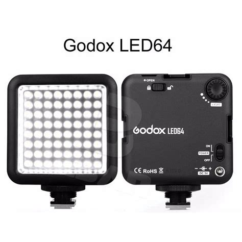 Led Flash Kamera godox flash kamera dslr universal 64 led black jakartanotebook