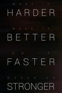 daft better faster stronger harder better faster stronger poster by cyanide cloud on