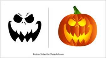 Halloween free scary pumpkin carving patterns 2012 10 scary pumpkin