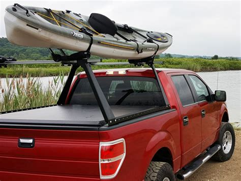 boat bed covers access original roll up cover adarac truck bed rack combo