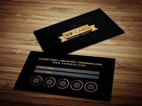 vip card design template card templates 107 free word excel ppt pdf psd ai