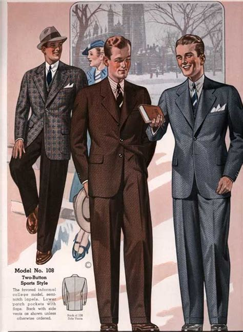 a popular style of 1930s suit 940 best 1930s mens fashion images on pinterest menswear
