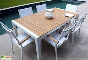 table de jardin alu truffaut