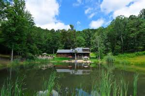 luxury vacation rental new river gorge wv lynn s pond house
