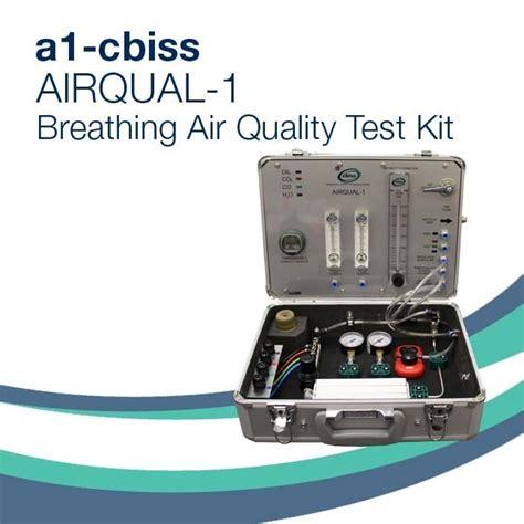air quality test kit airqual 1 breathing air quality test kit bs en12021 compressed breathing air testing