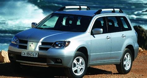 mitsubishi outlander review 2003 mitsubishi outlander 2003 2006 reviews technical data