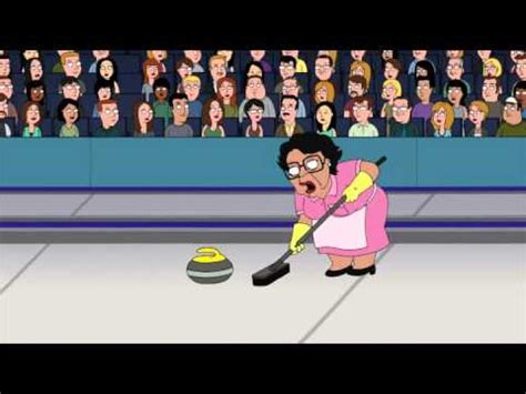 Family Guy Cleaning Lady Meme - consuela curling youtube