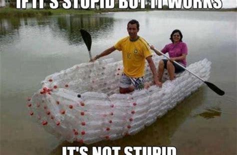 old boat joke plastic bottle boat funny pictures quotes memes funny