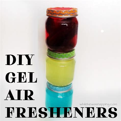 diy bathroom air freshener diy gel air fresheners while he was napping