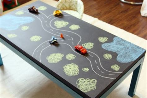 10 diy chalkboard table designs for a fresh and new look