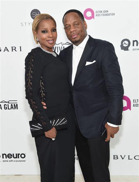 Elton Aids Foundation Oscar J Blige by J Blige Photos Photos 24th Annual Elton Aids