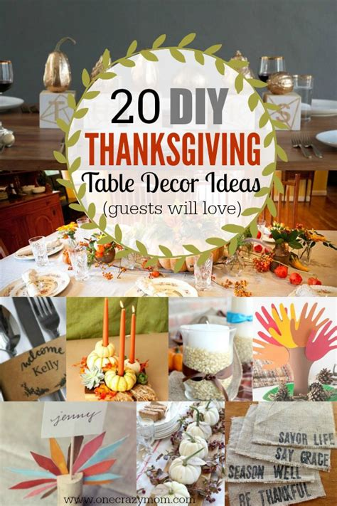 table decoration ideas easy thanksgiving table decor ideas 20 thanksgiving table