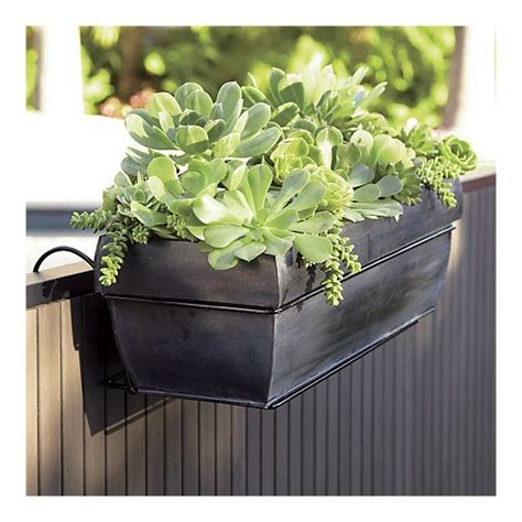crate and barrel planters south on broadway planter boxes