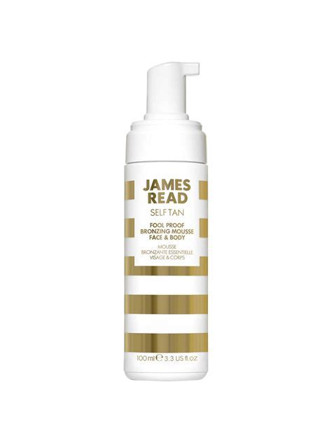 James Read Foolproof Face & Body Bronzing Mousse, 100ml at