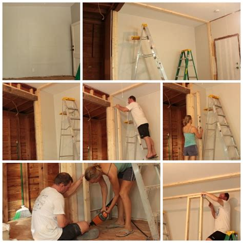 how to build a bedroom wall easy diy wall to wall closet