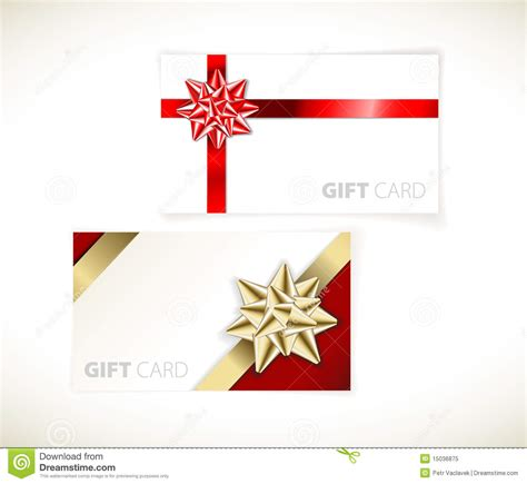 Modern Gift Cards - modern gift card templates royalty free stock photo image 15036875