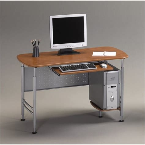 Small Desk For Computer Mayline Eastwinds Santos Small Metal Computer Desk 925