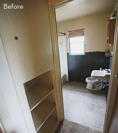 Bathroom Makeover Article Before And After A Modern Bathroom Makeover