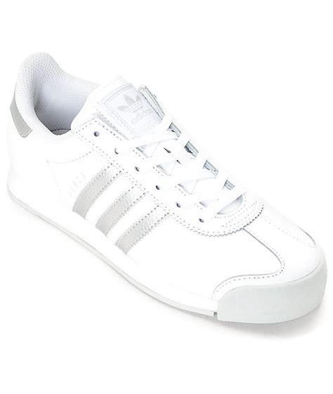 imagenes de zapatos adidas samoa adidas samoa zapatos en blanco y color plata para mujeres