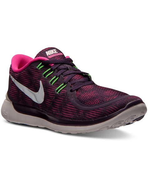 Sepatu Nike Flywire 50 Purple lyst nike s free 5 0 print running sneakers from