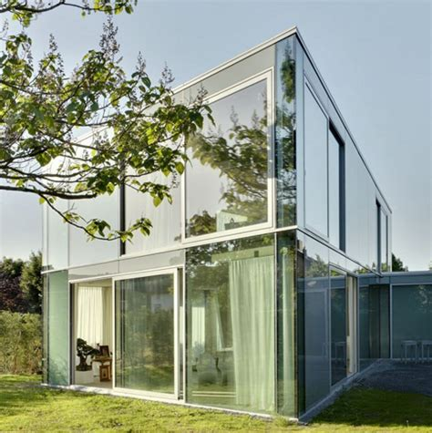 glass house designs stylish minimalist house with glass architecture in netherlands home design and interior