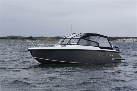 Aluminium Boat FINNMASTER HUSKY R7   The perfect family boat