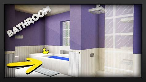 minecraft     bathroom youtube