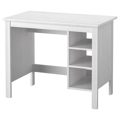 Brusali Desk White 90x52 Cm Ikea Desk Ikea White