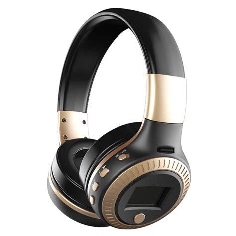 Zealot B19 Wireless Headset Bluetooth Headphone With Tf Fm Radio Zealot B19 Wireless Bluetooth Headphone Lcd Display Hifi Bass Stereo Earphone Headset With Mic
