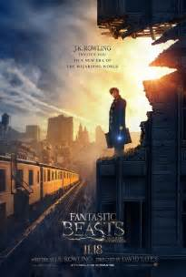 new poster for fantastic beasts and where to find them