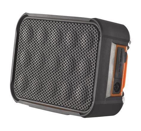 rugged speakers cobra cwabt310 airwave box rugged waterproof bluetooth speaker ebay