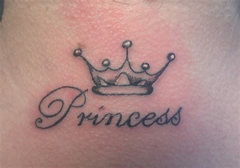 princess crown tattoo 29 tremendous crown tattoos creativefan