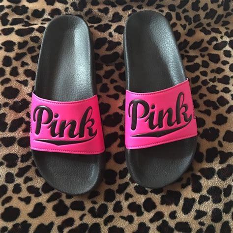vs pink slippers secret pink slippers pink slippers