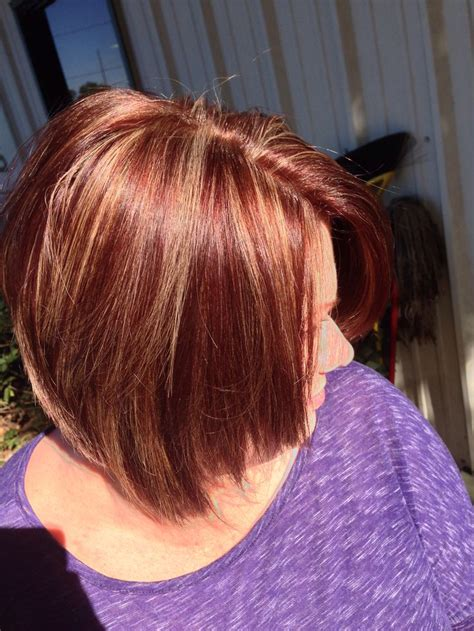 hairstyles with brown hair and red highlights red brown gold violet with caramel highlights fall hair
