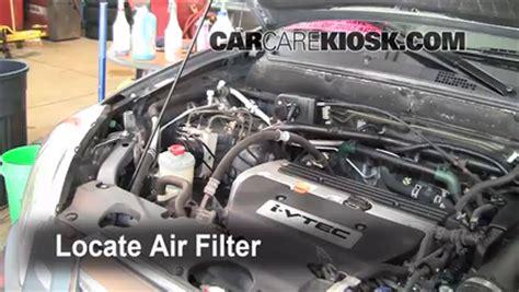 2006 honda crv check engine light 2002 2006 honda cr v engine air filter check 2006 honda