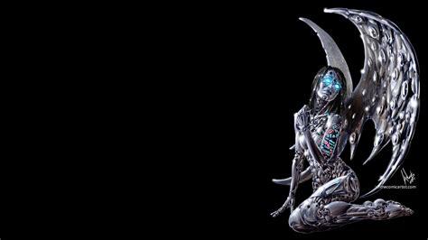 20 of ian sokoliwski tattooed cyberpunk robot angel