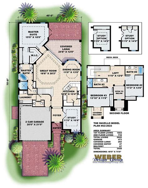 mediterranean house plan artesia house plan weber 100 weber design group home plans one story beach